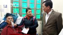 Các địa phương thăm hỏi, tặng quà Tết cho bệnh nhân