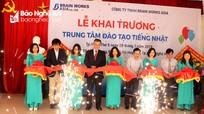 Khai trương Trung tâm đào tạo tiếng Nhật tại Nghệ An