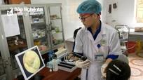 Bệnh viện ĐK TP Vinh khám, cấp thuốc miễn phí cho 200 thương, bệnh binh ở Yên Thành