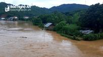 Tổng hợp thiệt hại do mưa lũ ở Nghệ An tính đến 17h ngày 17/8