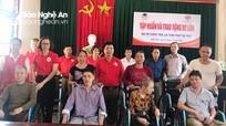 Nhiều hoạt động từ thiện hỗ trợ người nghèo, người khuyết tật
