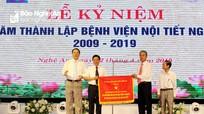 Bệnh viện Nội tiết Nghệ An kỷ niệm 10 năm thành lập