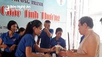 Tuổi trẻ Nghệ An tổ chức các hoạt động từ thiện nhân dịp sinh nhật Bác