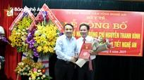 Trao quyết định bổ nhiệm Giám đốc Bệnh viện Nội tiết Nghệ An