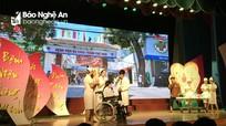 Bệnh viện ĐKTP Vinh đạt giải Nhất cụm 2 'Hội thi Cán bộ y tế đổi mới phong cách, thái độ phục vụ'