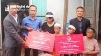 4 thuyền viên tử vong ở Nghệ An được chi trả quyền lợi bảo hiểm hơn 3,4 tỷ đồng