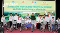 5.790 suất học bổng 'Vì em hiếu học' trao tặng trẻ em nghèo, vượt khó tại Nghệ An