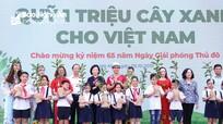 Vinamilk trồng 61.000 cây xanh và tặng 119.000 ly sữa nhân kỷ niệm 65 năm Giải phóng thủ đô