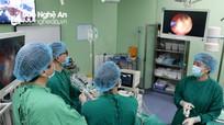 Xây dựng Bệnh viện Đa khoa Thành phố Vinh đạt tiêu chuẩn 'Bệnh viện thông minh'