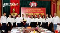 Đại hội nhiệm kỳ 2020 – 2022 Chi bộ Văn phòng - Phát hành Báo Nghệ An
