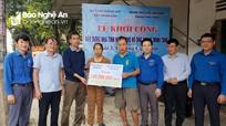 Báo Nhân Dân hỗ trợ xây dựng nhà tình nghĩa cho gia đình chính sách ở TP Vinh