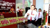 Đại hội Đảng bộ xã Diễn Thọ, Diễn Châu nhiệm kỳ 2020-2025