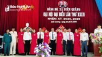 Đại hội Đảng bộ xã Diễn Quảng (Diễn Châu) nhiệm kỳ 2020 - 2025