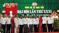 Đại hội Đảng bộ xã Nghi Tiến (Nghi Lộc) nhiệm kỳ 2020 - 2025