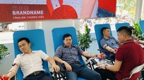 Hơn 200 cán bộ, công nhân viên Viettel Nghệ An và khách hàng tham gia hiến máu nhân đạo