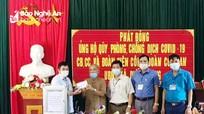 Cựu binh 83 tuổi ở Nghệ An ủng hộ 1 tháng lương vào Quỹ Vắc-xin phòng, chống Covid-19