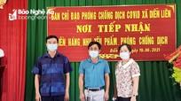 Sàn BĐS Tâm Quê ủng hộ 140 nghìn khẩu trang và 700 két nước lọc cho người dân vùng dịch Diễn Châu