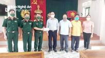 Lãnh đạo huyện Kỳ Sơn kiểm tra, thăm, tặng quà lực lượng tuyến đầu chống dịch Covid-19