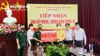Viettel Nghệ An ủng hộ 300 triệu đồng phục vụ công tác phòng, chống dịch Covid-19