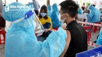 Gần 2.500 liều vắc xin phòng Covid-19 đã được tiêm tại Bệnh viện Đa khoa Cửa Đông