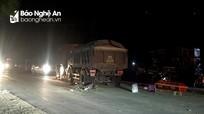 Người đàn ông tử vong sau cú đối đầu với xe tải ở Thanh Chương