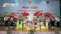Hội thi 'Tuyên truyền măng non thiếu nhi bảo vệ đường sắt' tại Nghệ An