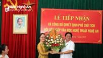 Công bố quyết định Phó Chủ tịch Hội Liên hiệp Văn học Nghệ thuật Nghệ An