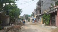 Xây dựng tuyến đường Tản Đà, phường Quán Bàu (thành phố Vinh): Dân... lại phàn nàn