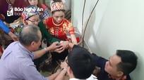 Độc đáo tục đón dâu của người Thái ở Nghệ An