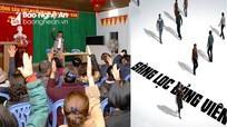 Nghệ An: Kiên quyết xử lý đảng viên không còn đủ tư cách