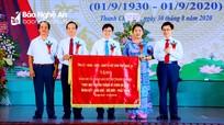 Trọng thể Lễ kỷ niệm 90 năm ngày truyền thống Đảng bộ và nhân dân huyện Thanh Chương