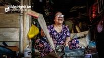 Cuộc sống vẫn ngập sắc màu giữa những khu nhà Quang Trung cũ kỹ