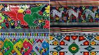Những 'bức tranh' độc đáo trên vải thổ cẩm của người Thái ở Nghệ An