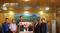 Đoàn đại biểu thanh niên tỉnh Nghệ An thăm và làm việc tại tỉnh Hủa Phăn, Lào