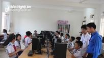 Gần 300 học sinh tranh tài tại Hội thi Tin học trẻ Nghệ An lần thứ 24