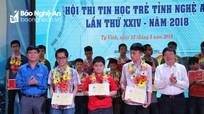 Nghệ An chọn 4 học sinh dự Hội thi tin học trẻ toàn quốc