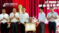 Diễn Châu trao tặng danh hiệu Mẹ Việt Nam anh hùng, tặng Huy hiệu Đảng dịp 19/5