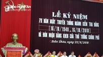 Ủy ban Kiểm tra Huyện ủy Diễn Châu đón nhận Bằng khen củaThủ tướng Chính phủ