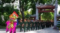 Các đơn vị, địa phương dâng hương tưởng nhớ Chủ tịch Hồ Chí Minh