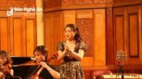 Giọng opera của nữ ca sỹ quê Nghệ khiến giám khảo rơi nước mắt