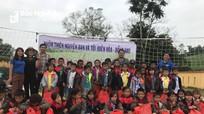 Lan tỏa phong trào thiện nguyện tới thôn bản