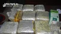 Bắt giữ đối tượng vận chuyển 10kg ma túy tổng hợp từ Lào về Nghệ An