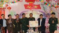 Phó Chủ tịch UBND tỉnh Lê Hồng Vinh thăm, chúc Tết các cơ quan, đơn vị