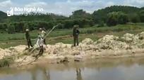 Bé trai 11 tuổi đi bắt cua rơi xuống hố công trình bị chết đuối