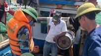 Biên phòng Nghệ An tạm giữ 11 tàu khai thác thủy sản trái quy định
