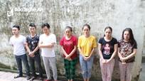 Băng nhóm tổ chức đánh bạc hơn 60 tỷ đồng ở Nghệ An
