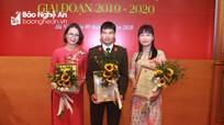 Nghệ An đạt 2 giải Ba tại cuộc thi Giải báo chí 'Vì an ninh Tổ quốc và bình yên cuộc sống'
