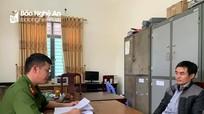 Kẻ cho vay với lãi suất khủng khiếp ở Nghệ An bị bắt