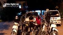 Nghệ An: Triệu tập nhóm thanh niên đánh võng, bốc đầu, nẹt pô gây náo loạn trên phố