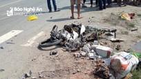 Người phụ nữ bị tử vong dưới bánh xe tải trên đường N5
